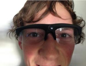 Sheleft Hawk-eye camera glasses